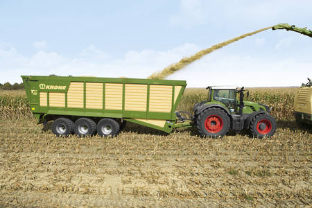 Krone Forage Transport Wagon TX