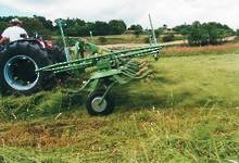 Krone KW Mounted Rotary Tedder
